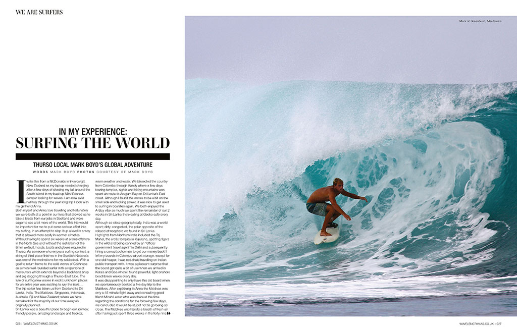 In My Experience, surfing the world...