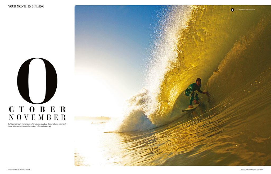 Month In Surfing, winter fires