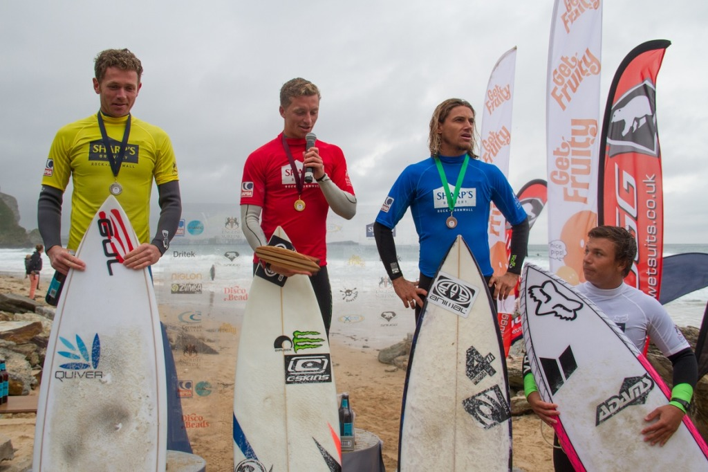Sharp's. UK Pro surf. men's open.