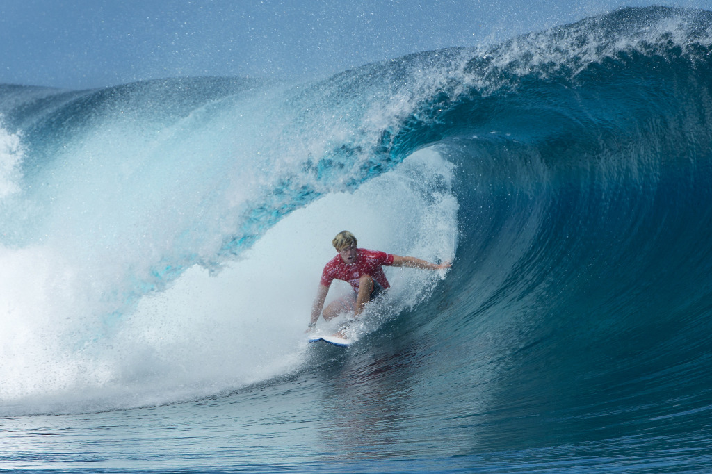 Florence finished equal 13th in the Billabong Pro Tahiti after being defeated in Round 3.