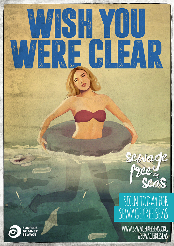 Wish You Were Clear Sewage Free Seas SAS