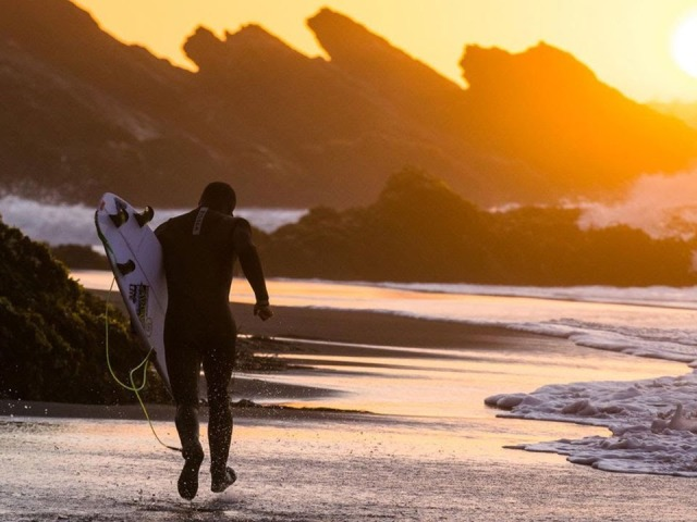 Searching For Perfect Waves In Chile