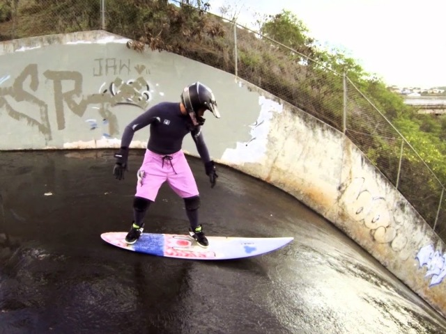 Throwback To Poopies Surfing A Sewer