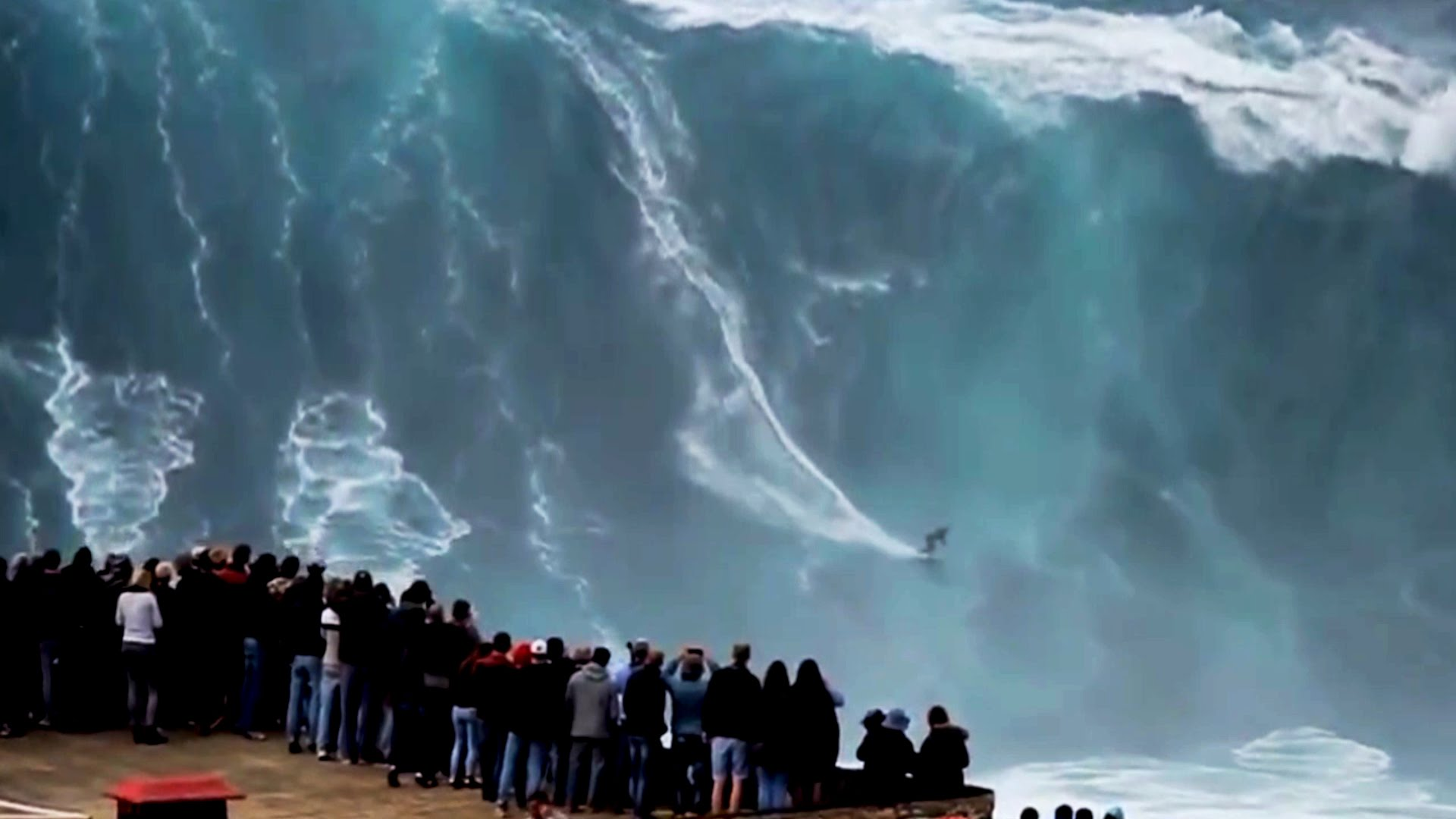 These Are The Biggest Waves Ever Surfed At Nazare