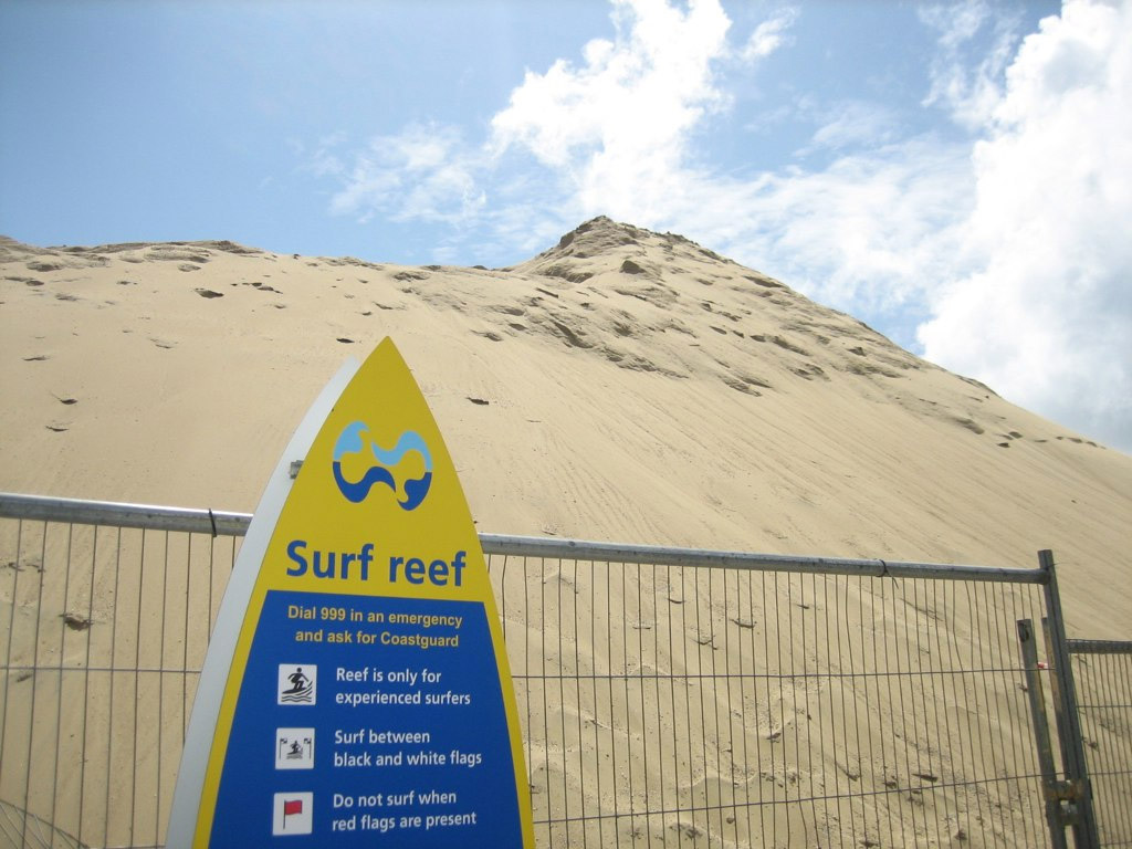 Sinking Sand: Bournemouth council ploughed £3million straight into the ocean. Image credit