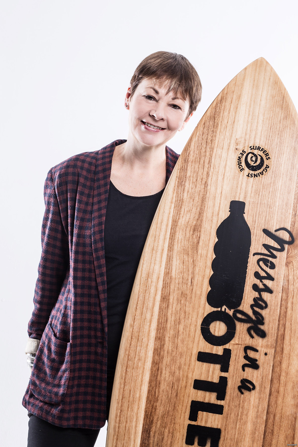 Caroline Lucas of the Green Party