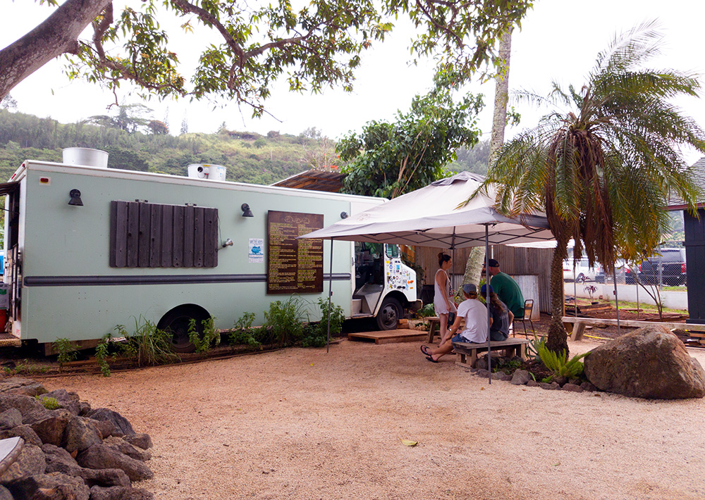 For some of the best Thai on the island head to the Elephant Truck