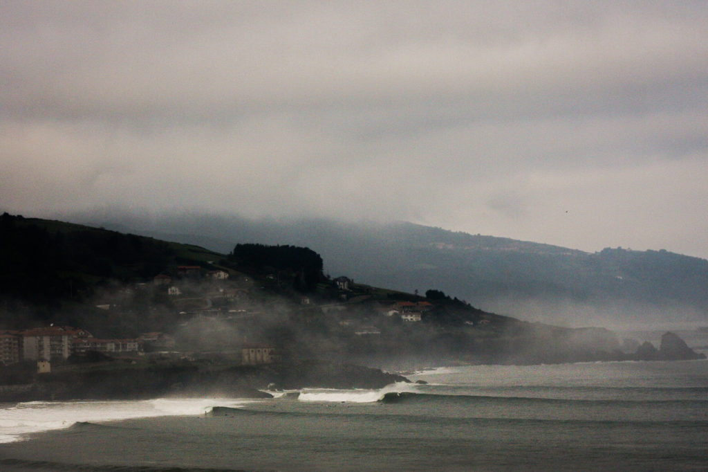 A misty morning in Mundaka, The Basque Country. Photo Luke Gartside