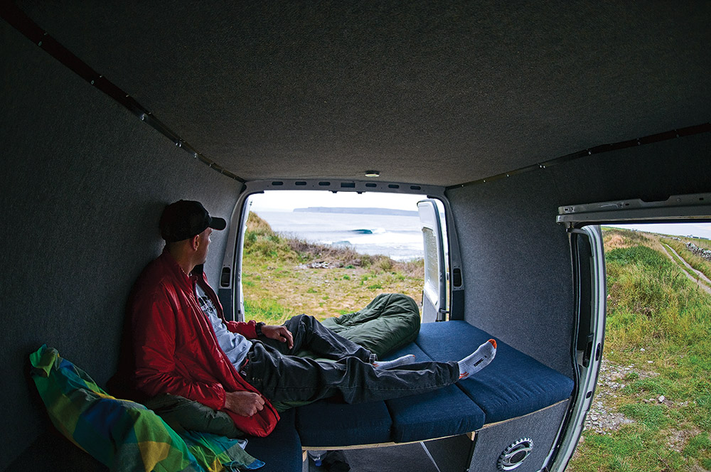 A van with a view, somewhere in Scotland Photo: Tim Nunn
