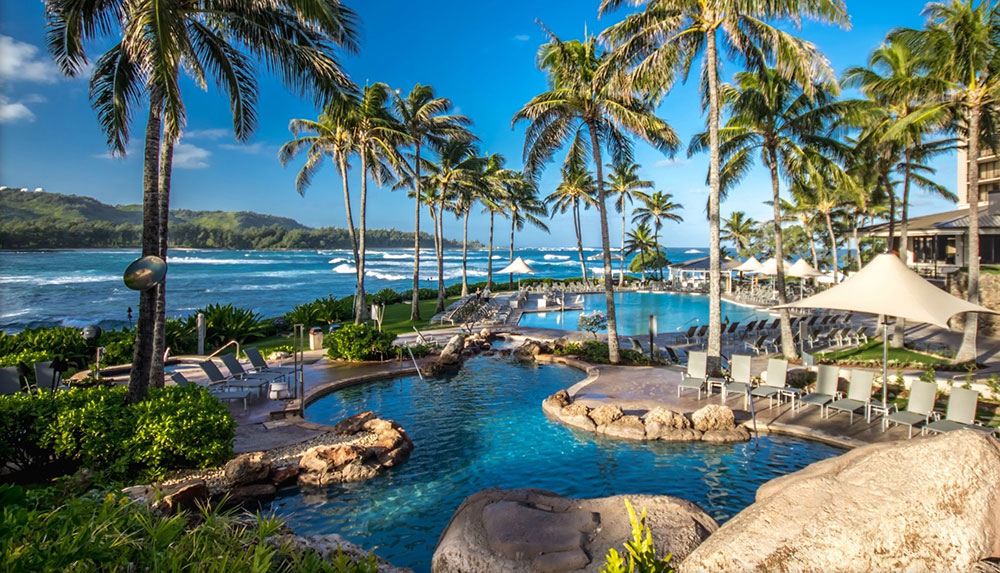The Turtle Bay Resort is the place if you prefer the finer things in life.