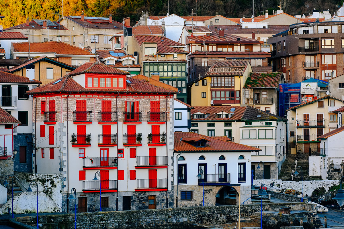 The picturesque town of Mundaka