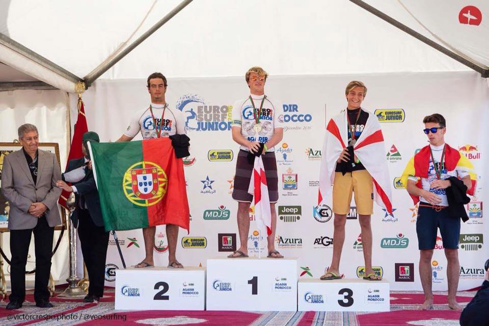 European Junior Longboard Championship title,