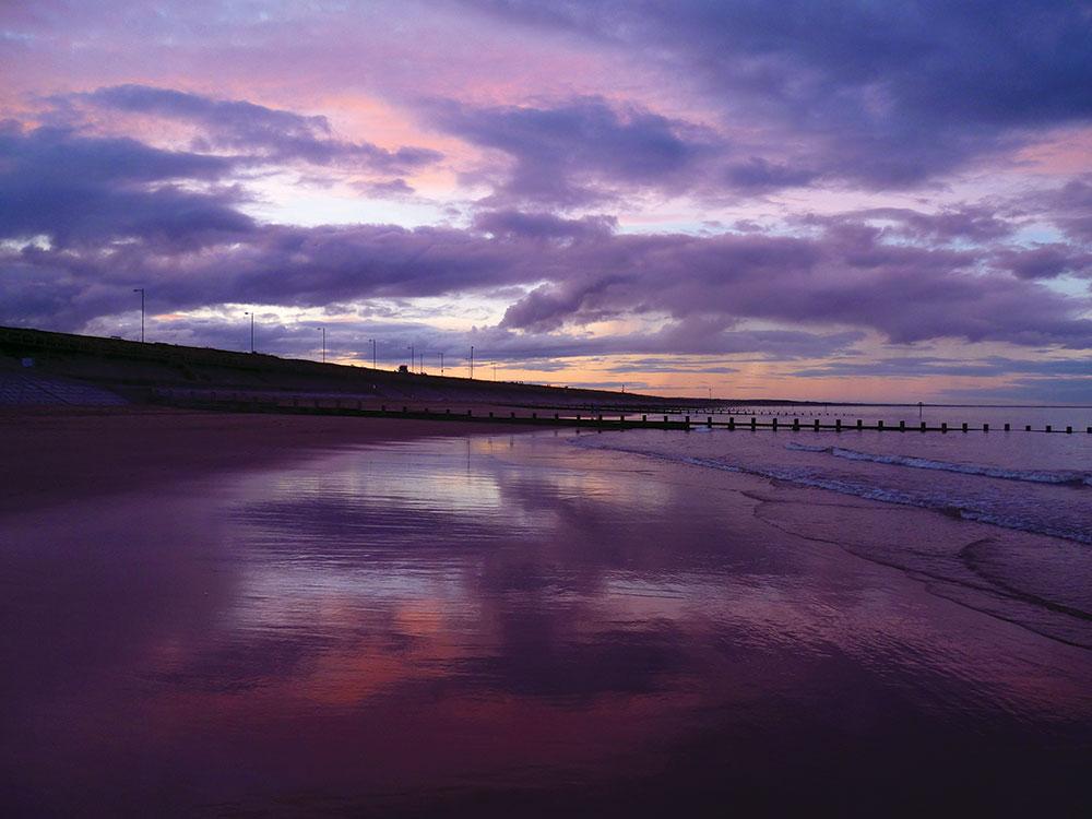 Winter sunset Image: Sarah Dickson
