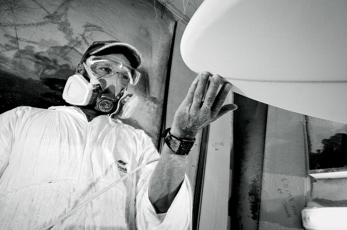 Gulf Stream shaper Jools Matthews