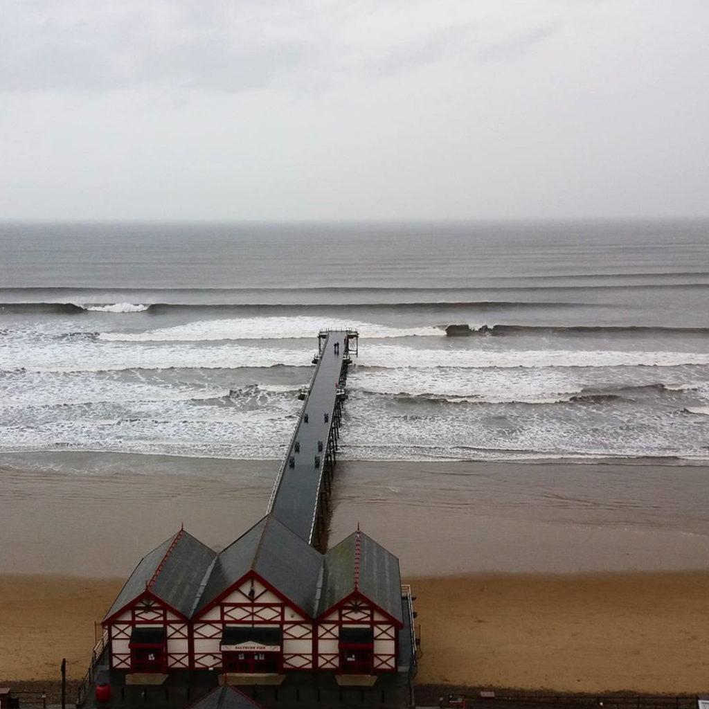 saltburn pier surf