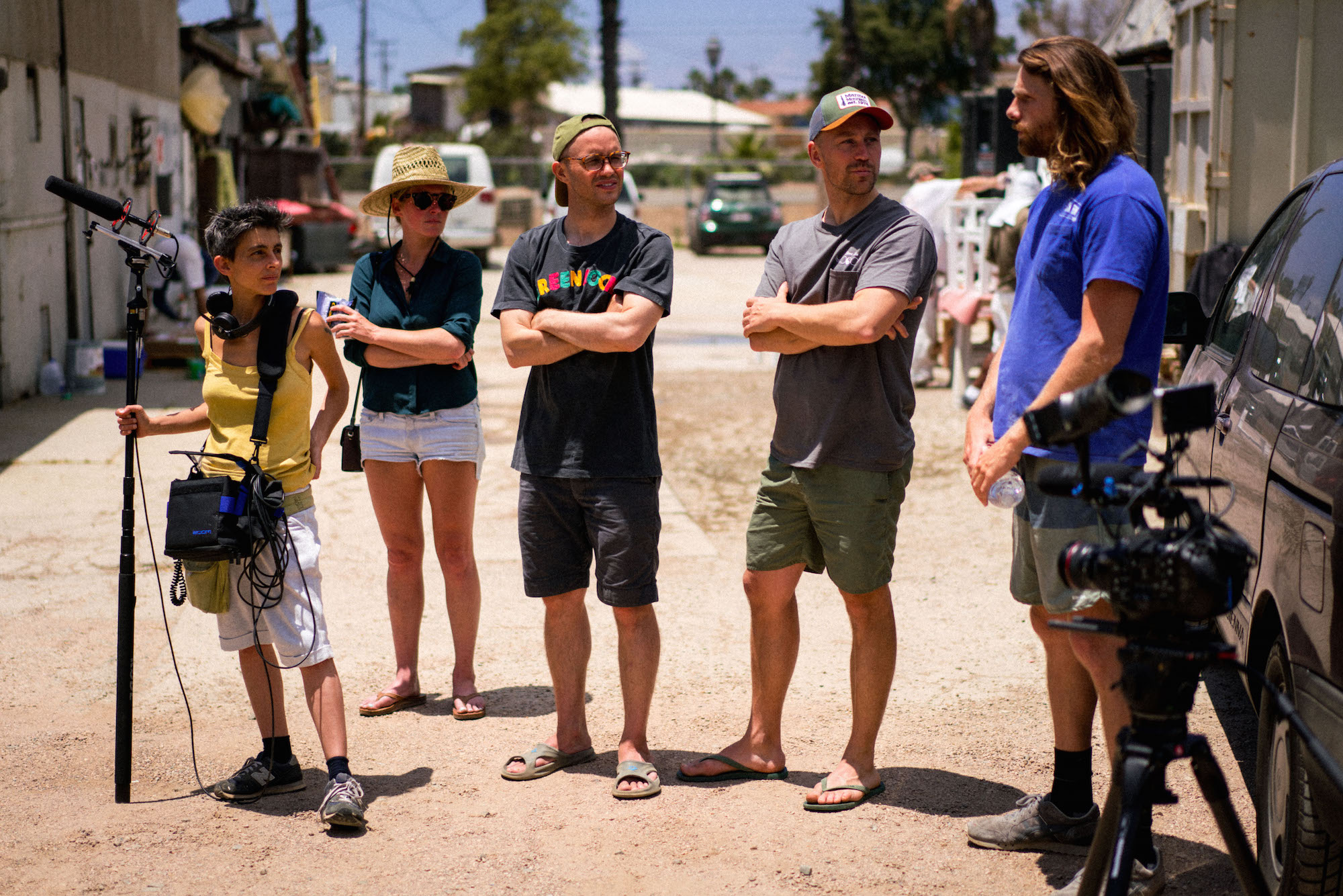 """Behind the scenes of surf mockumentary """"The Outrider"""""""