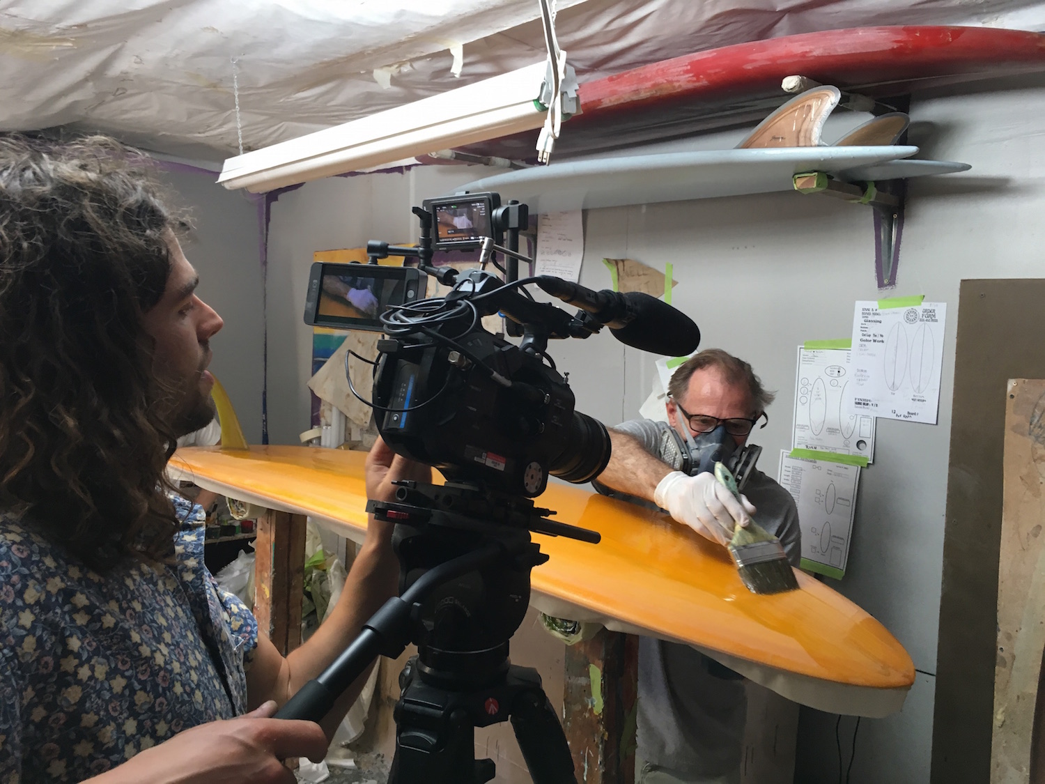 """Danny Webb in surf mockumentary """"The Outrider"""""""