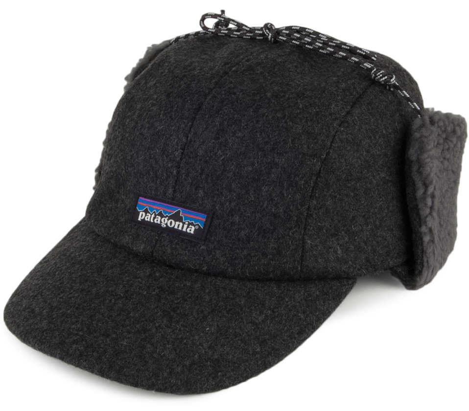 Hats for Surfers - Patagonia Recycled Wool Ear Flap Cap